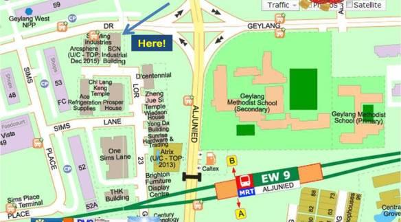 Beacon LOHAS map