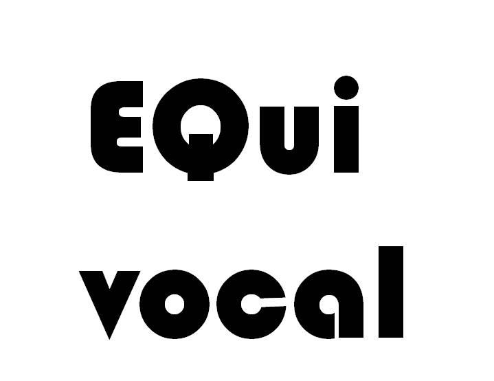 Sigh... EQ. So EQuivocal.