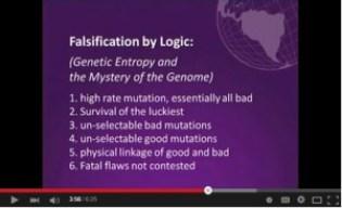 Genetic Entropy