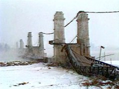 Janvier 1985 - Pont Suspendu