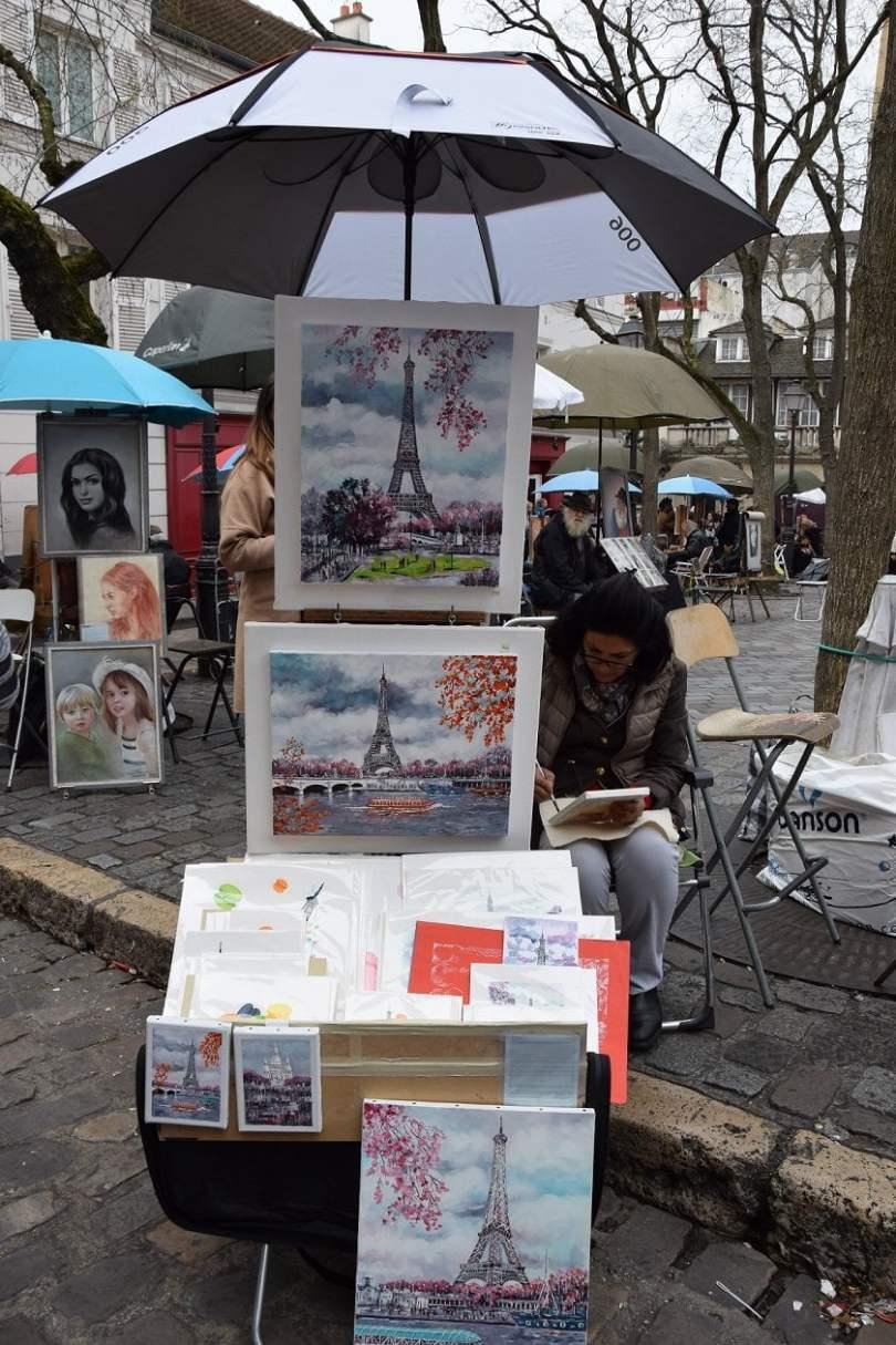 Place_du_Tertre_Weekend romantico a Parigi