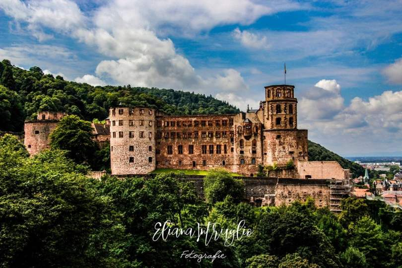 Holiday studio Heidelberg castle