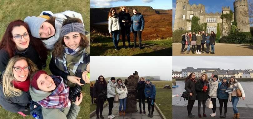 Au pair in Irlanda: friends