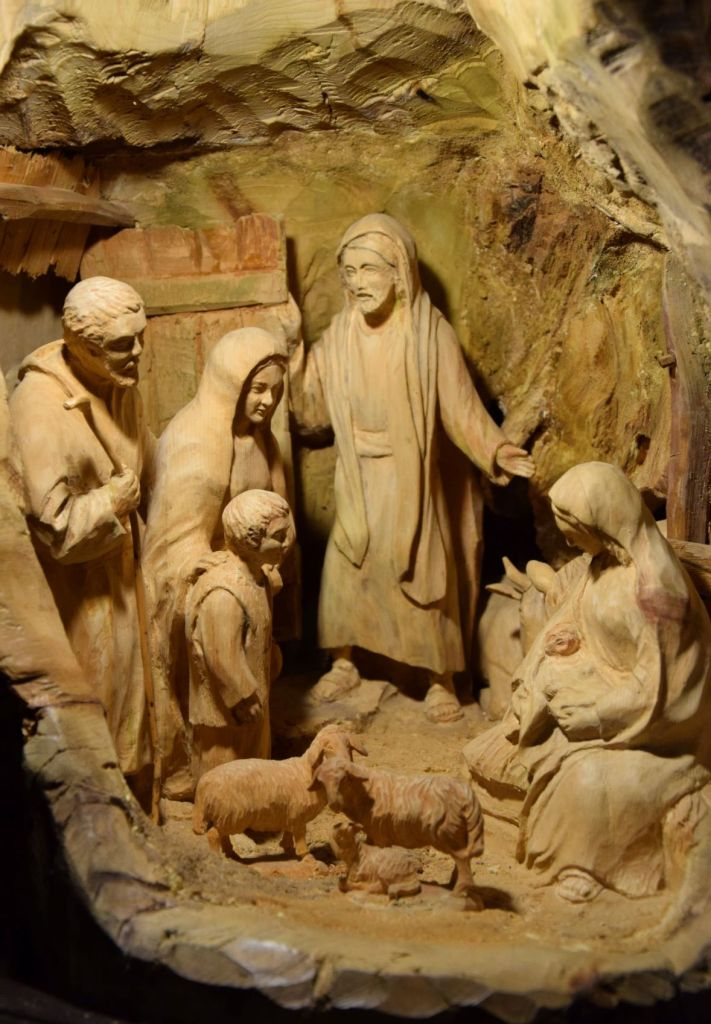 Natale in Val di Fiemme, presepe
