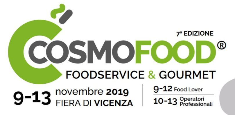 Cosmofood, la fiera delle eccellenze italiane
