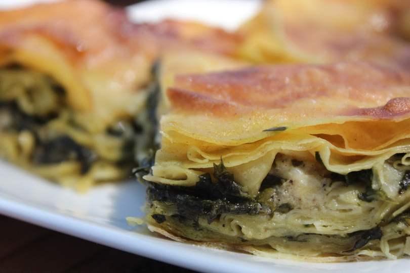 Cosa mangiare a Istanbul: Borek ripieno di formaggio e spinaci