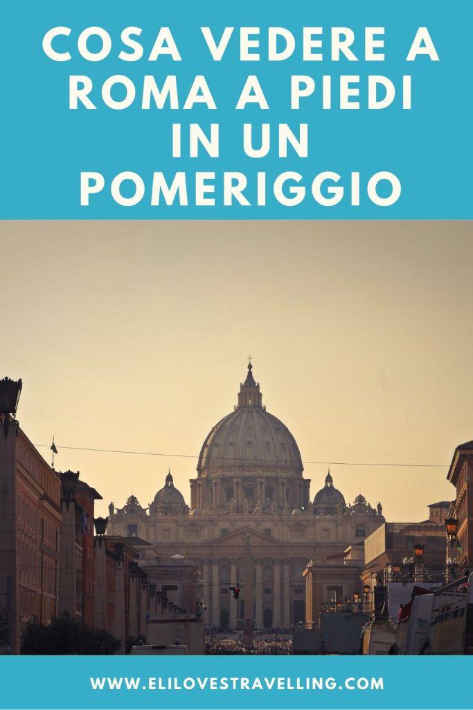 Cosa vedere a Roma a piedi in un pomeriggio 3