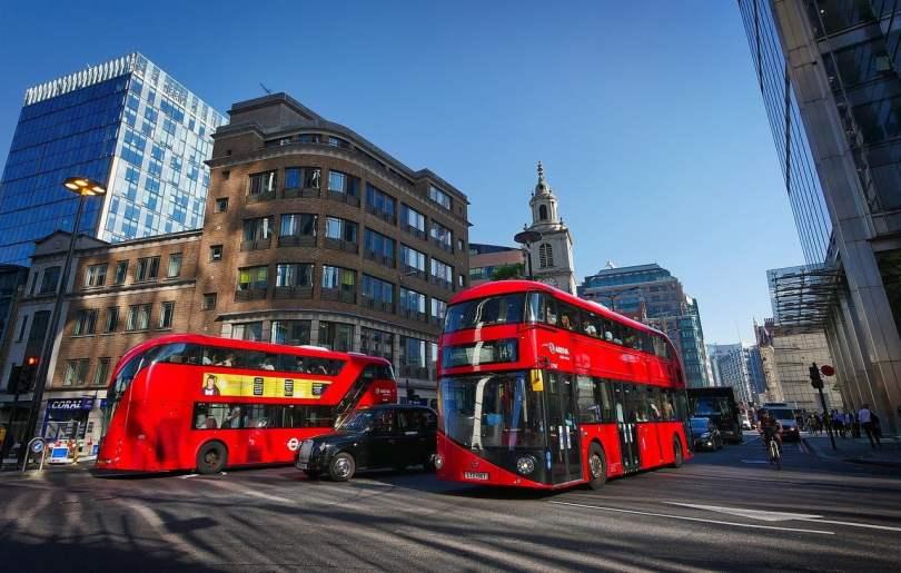 Come funzionano i bus a Londra