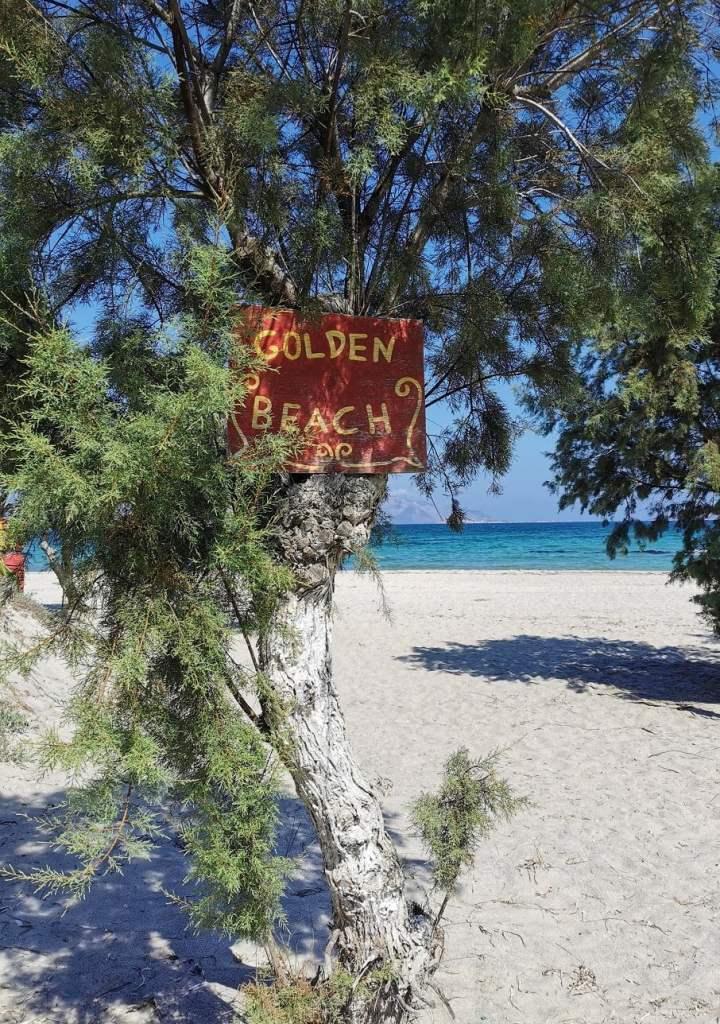 Golden Beach a Marmari, Kos spiagge