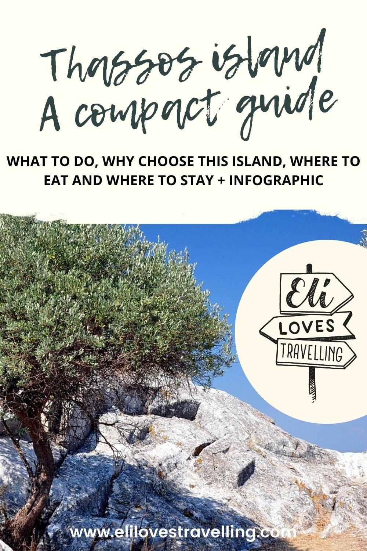 Thassos Greek island Pinterest