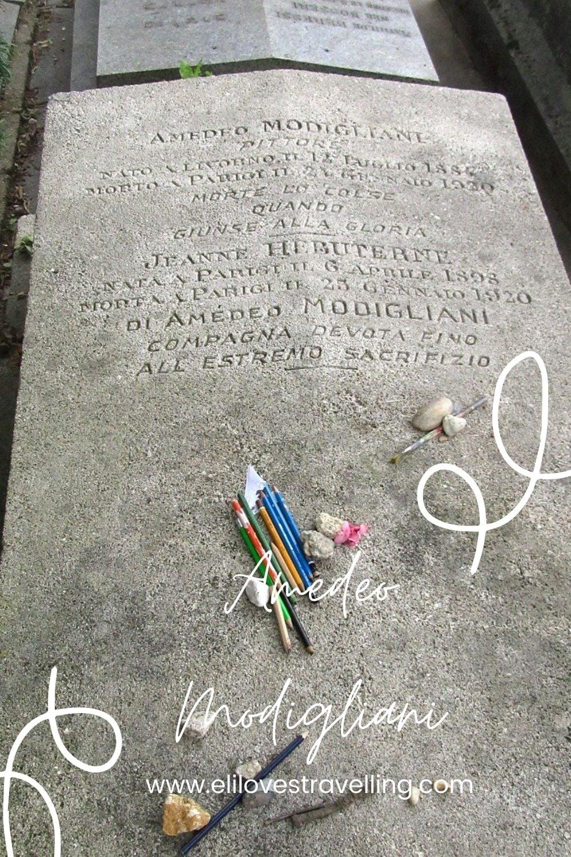 Tra i viali di Père-Lachaise: Amedeo Modigliani 1