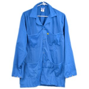 5049 Series Blue Snap Cuff ESD Jacket