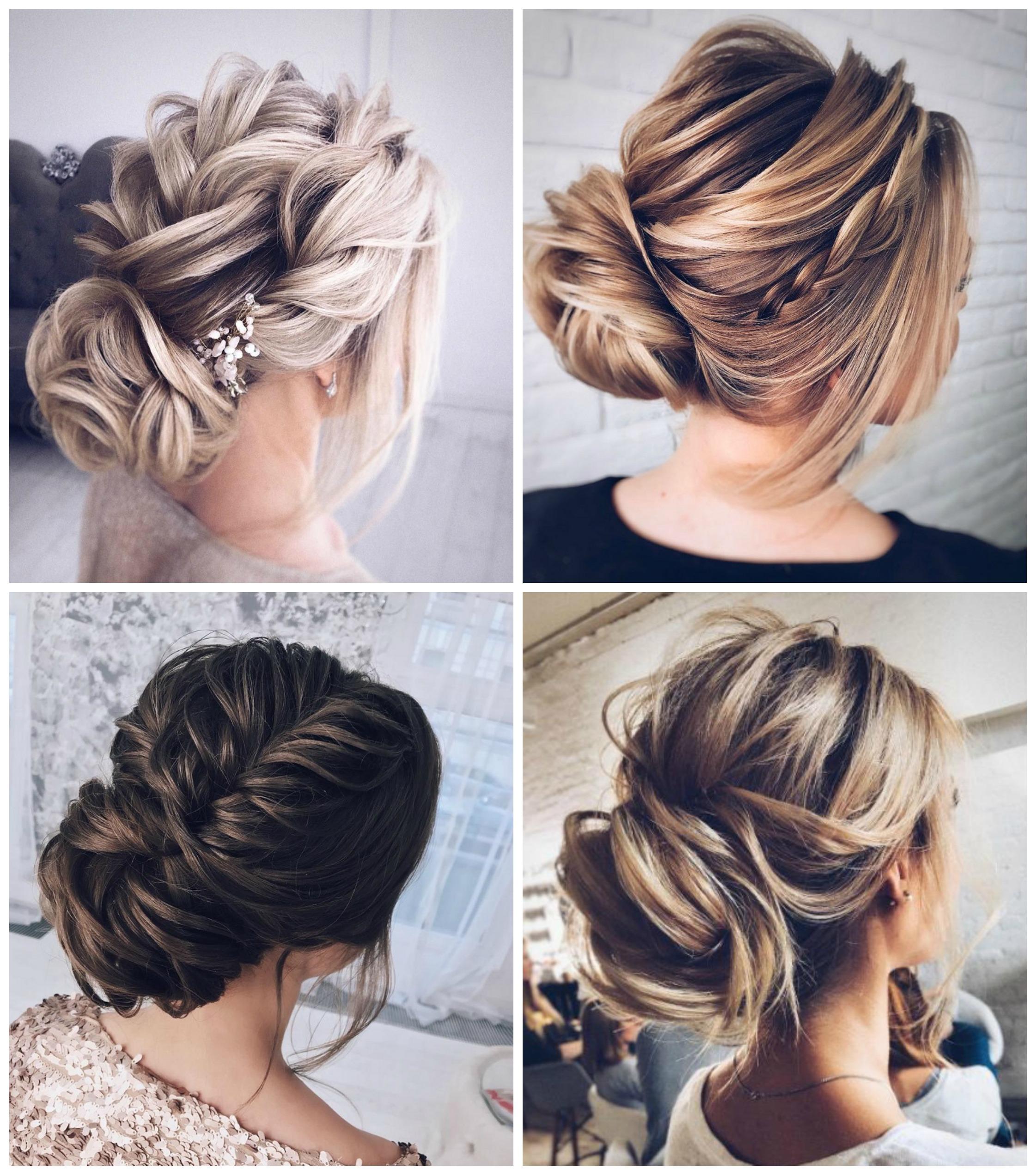 bröllopsfrisyr axellångt hår
