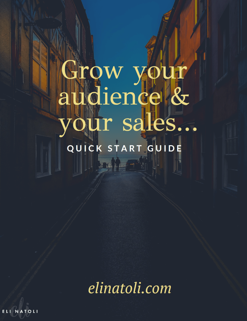 grow your audience and your sales