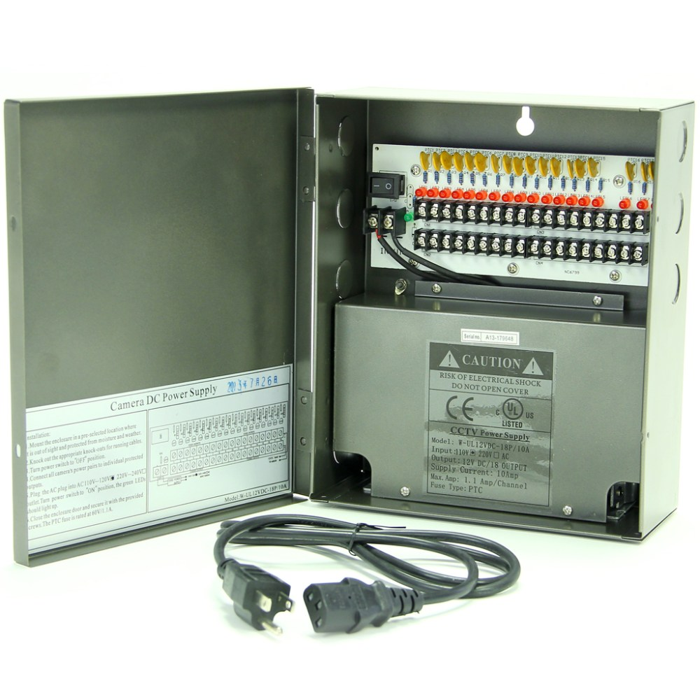 medium resolution of eli pwr 1810a ul 18 channel ul listed power distribution box