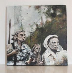 Acryl, 201650 x 50 cm