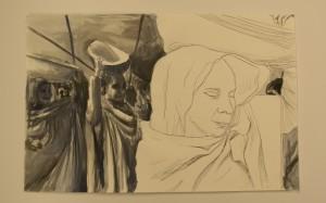 Ink and aquarel, 2014