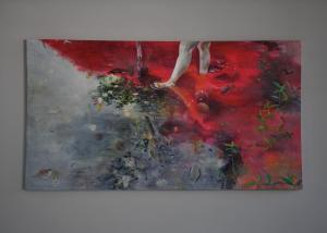 Ophelia IAcrylic, 2016220 x 120 cm