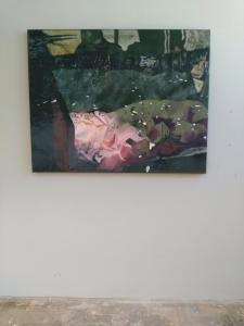 Slaapdronken Oil and wasco, 2017151 x 119 cm