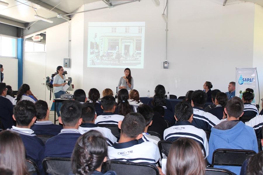 Primer Foro de Cambio Climático y Cultura del Agua en CECyTE San Francisco del Rincón