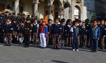 Recuerdan a Niños Héroes en los municipios del Rincón
