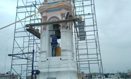 Restauran templo de la Inmaculada Concepción en San Francisco del Rincón