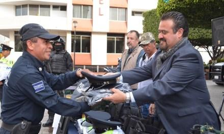 Más de un millón de pesos en equipamiento policial