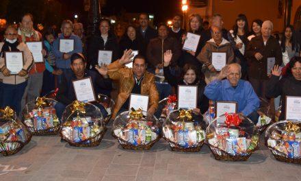 Premian a los mejores en conservar la tradición de las Iluminaciones