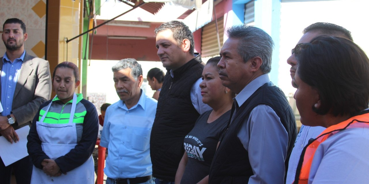 Avanzan obras de remodelación en mercado de Manuel Doblado