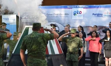 Incineran banderas en Purísima