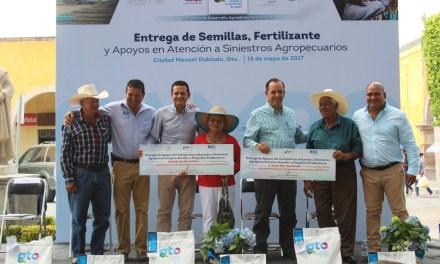 Renuevan sector agrario en Manuel Doblado
