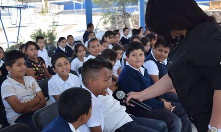 Promueven espacios libres de violencia entre infantes