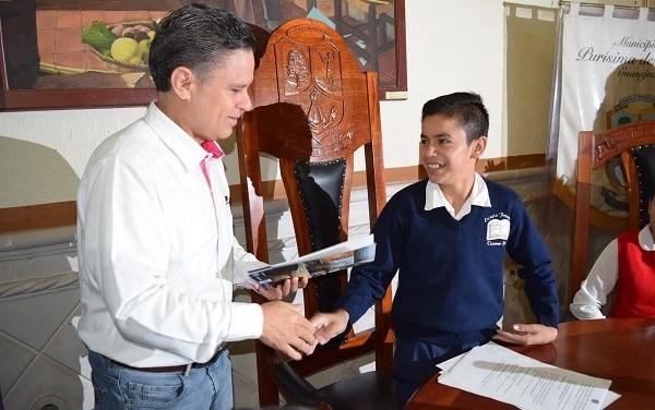 Instalan Ayuntamiento Infantil en Purísima