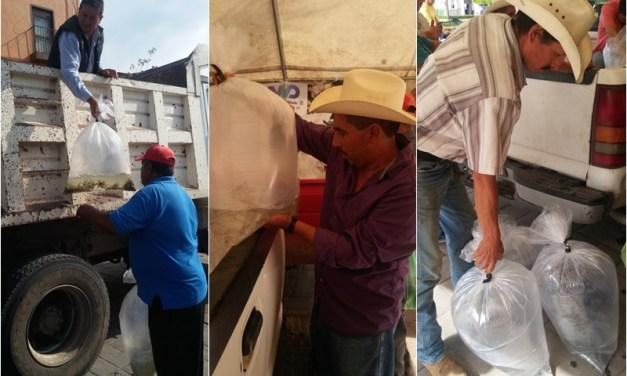 Entregan casi 100 mil peces para crianza en Manuel Doblado