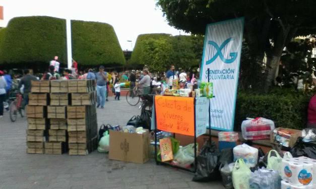 Jóvenes de San Francisco suman esfuerzos a favor de víctimas de terremoto