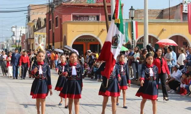 En Manuel Doblado conmemoran 207 Aniversario del inicio de la Independencia