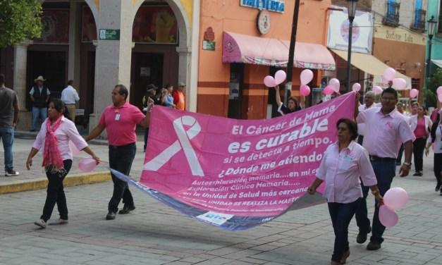 En Manuel Doblado conmemoran Día Mundial de la Lucha contra el Cáncer de Mama