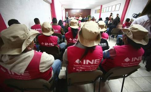 INE busca capacitador y supervisor electoral
