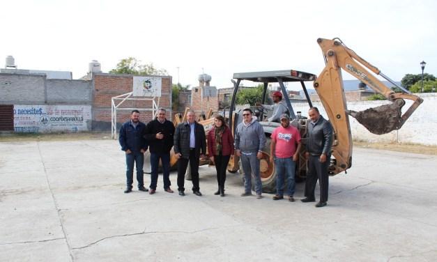1 millón de pesos en remodelación a plaza Los Veneros en Purísima del Rincón