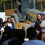 Inician pavimentación de la 5 de mayo en Manuel Doblado