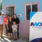 Entregan más de cien cuartos a familias de Manuel Doblado