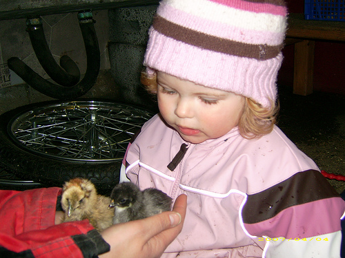 Elin in kindergarten 04.04.07.
