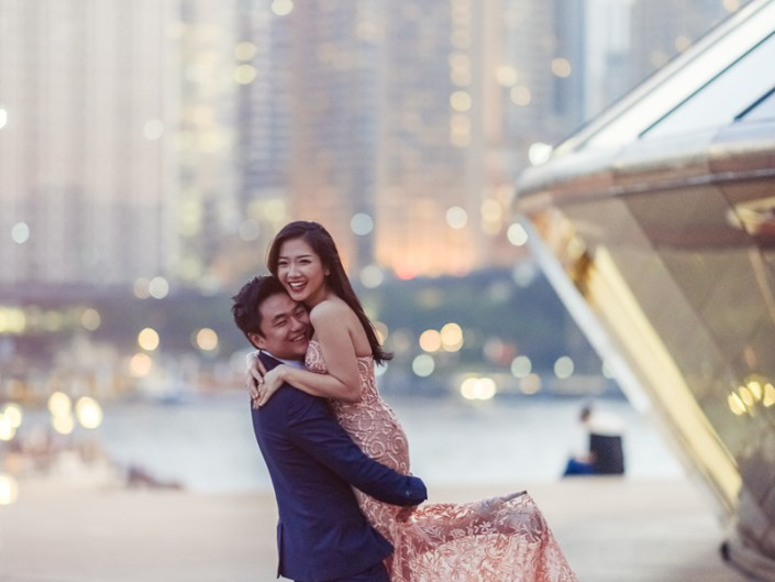 Sydney Opera House and Harbour Bridge Pre Wedding/Engagement Photo Session - Vivi and Ludo
