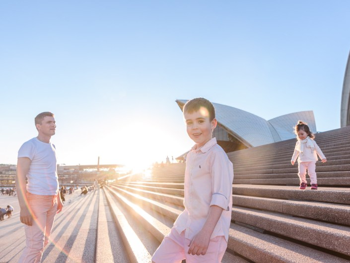 Sydney Opera House Family Photo Session