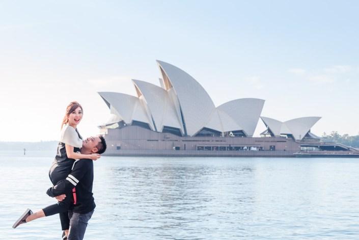 Sydney Opera House & Harbour Bridge Couple/Prewedding/Engagement Photo Session
