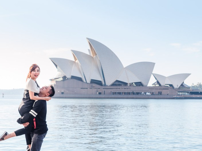 Sydney Opera House & Harbour Bridge Couple/Prewedding/Engagement Photo Session