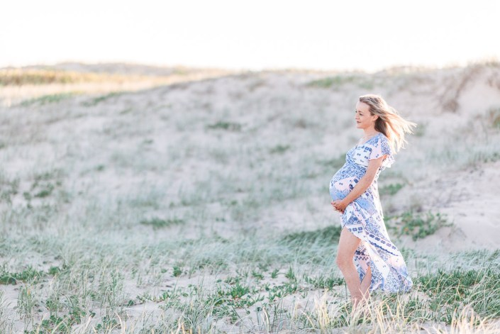 Sydney Shire Cronulla Greenhills Beach Dunes Maternity/Family Portrait Session