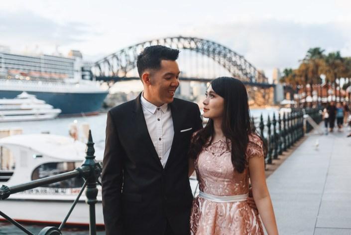 Sydney Harbour Bridge + Opera House Holiday Session//Prewedding Session