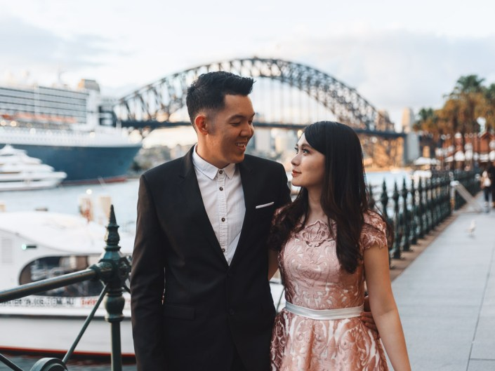 Sydney Harbour Bridge + Opera House Holiday Session//Prewedding Session