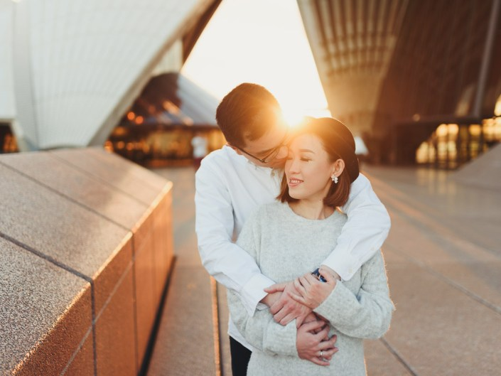 Sydney Opera House Maternity and Couple Shoot